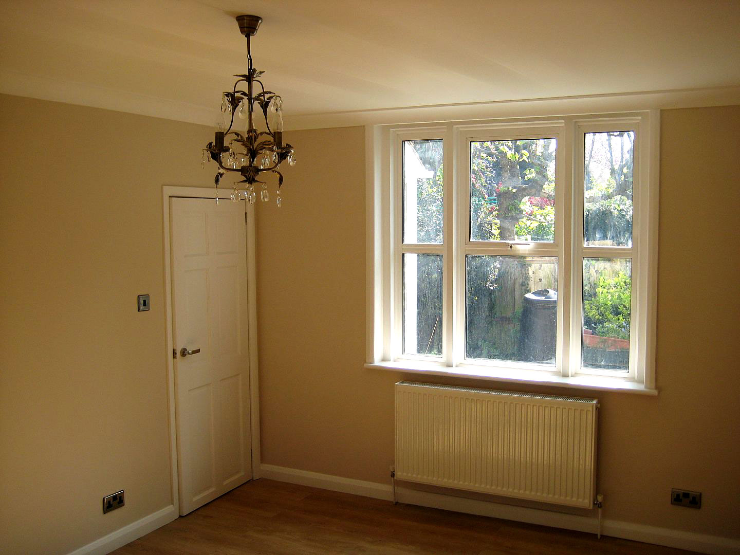 After refurb(new heating, rewire, new plaster, new floor, decoration), Bromley